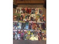 Comics lot Marvel, DC