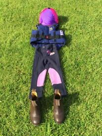 Small Childs horse riding gear