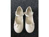 Sparkly John Rocha girls shoes size 13