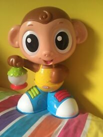 Little tikes spin and sing monkey