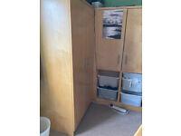 Bespoke bedroom furniture - cabin bed, desk and storage
