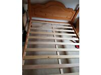 double pine bed and coolflex mattress