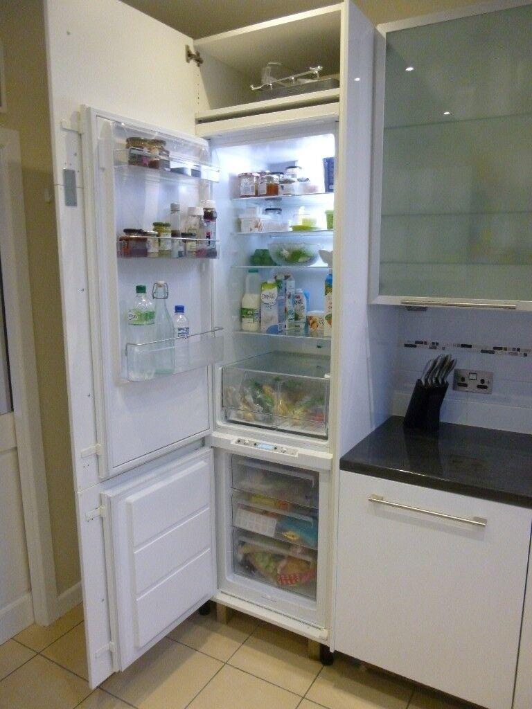 fridge freezer integrated ikea haftigt in llandaff. Black Bedroom Furniture Sets. Home Design Ideas