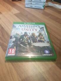 Assassin's Creed Unity for the xbox one (USED)
