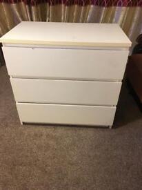 Ikea 3 drawer chest drawer