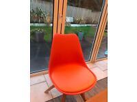 Orange Dining Chairs - Brand New