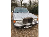 1985 Rolls Royce Silver Spirit 6.8 v8 with service history and books. Only 53,000 miles.