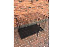 Large Black Pet Cage