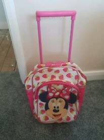 Small mini mouse suitcase travel luggage