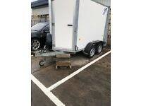 BV85 hobby utility trailer with facilities