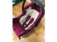 Mothercare Rear Facing Baby Car Seat