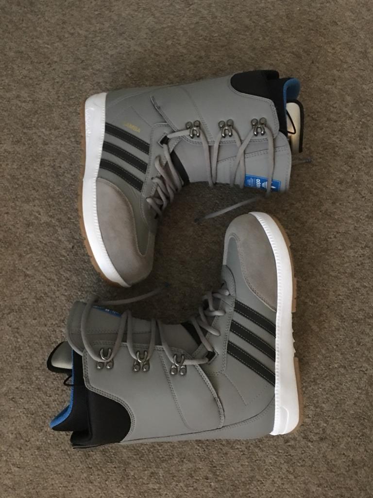 Adidas samba avanzati nuovi stivali taglia 10 regno unito canarie snowboard