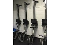 3x Concept 2 Rowers with PM2/3