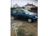 2002 micra very good runner 1/2 tank petrol