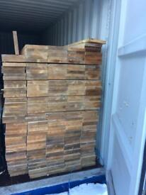 New dressed timber 9 x 1-1/2 x 13 ft