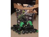 Roller skates, New, adjustable size 13-3! £10 ONO