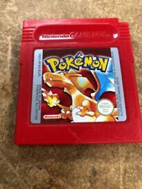Pokémon Red for GameBoy