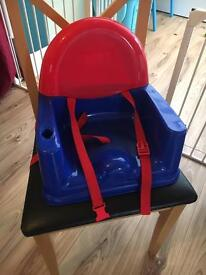 Booster high chair