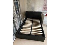 Double bed with gas lift