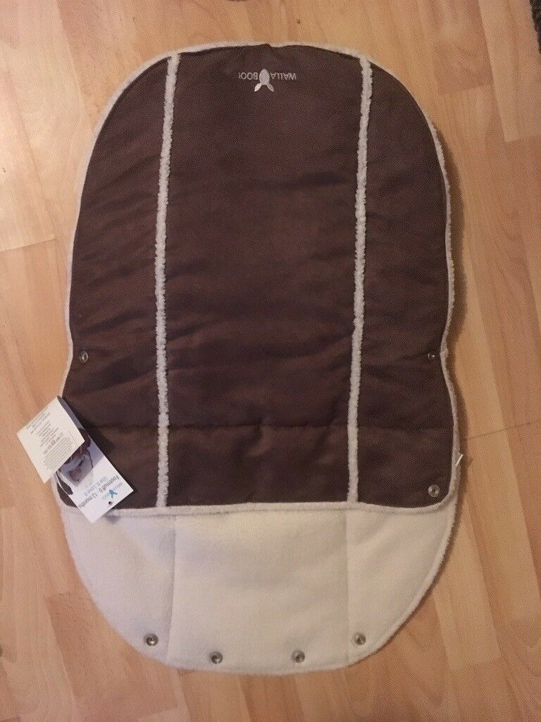 Car Seat Cozy Cover Wallaboo Footmuff Just 15