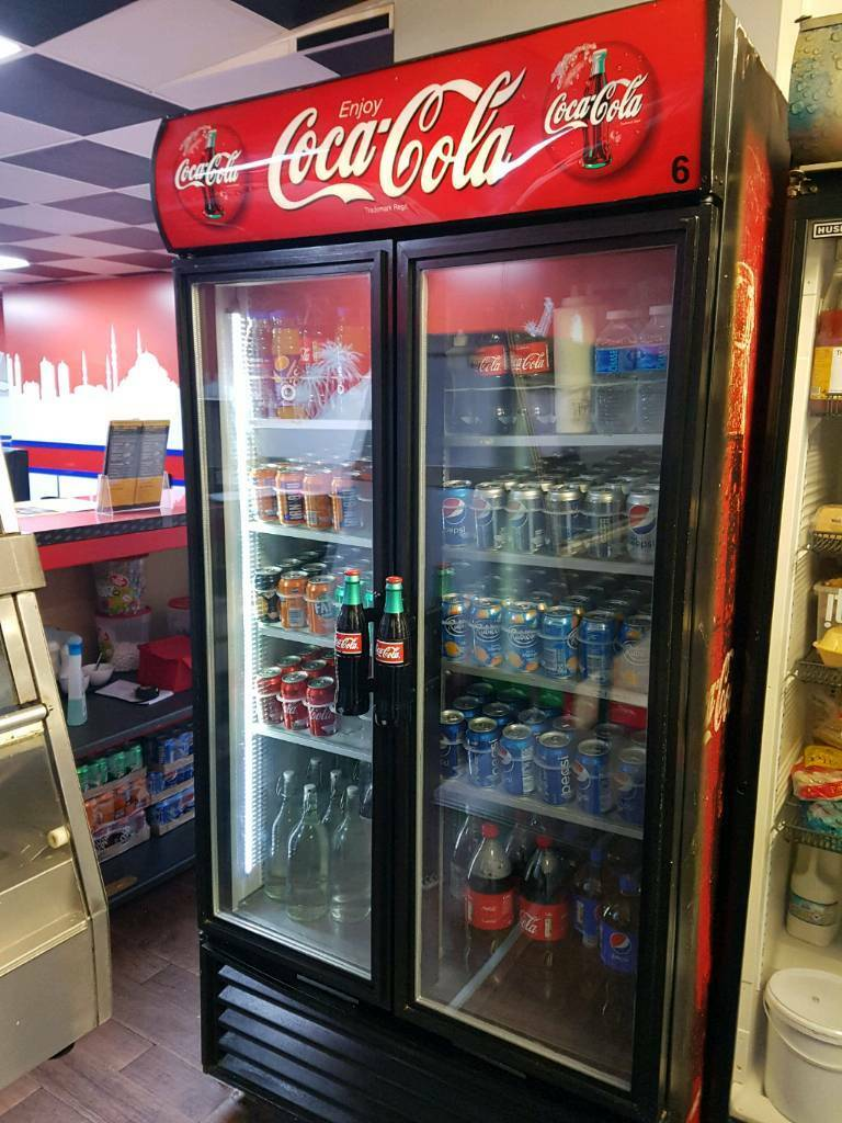 Double Door Coca Cola Fridge In Wakefield West