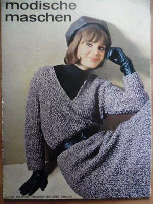 MODISCHE MASCHEN 3 - 1964 * Kostüme Ensembl Vestover + Schnittmuster Mode DDR
