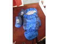 2 Hi-Gear Horizon 2-season sleeping bags