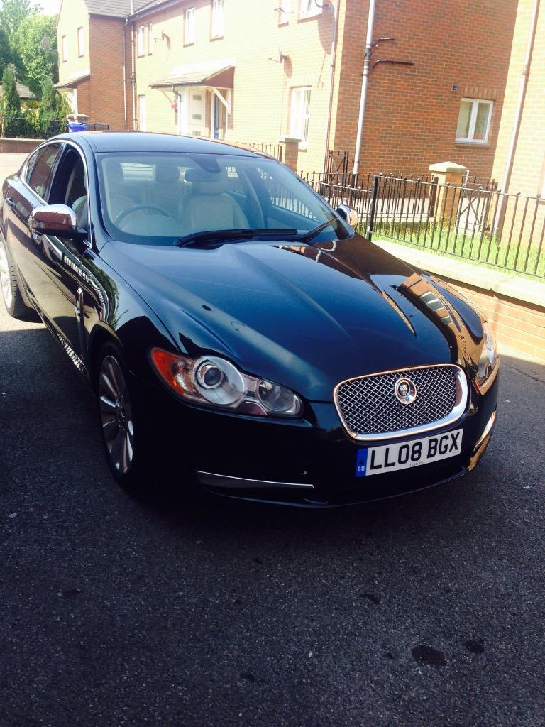 jaguar xf 2 7 2008 black automatic make me an offer in sheffield south yorkshire gumtree. Black Bedroom Furniture Sets. Home Design Ideas