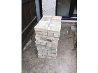 159 reclaimed cambridge white bricks