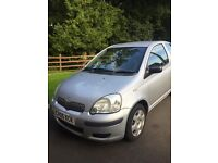 Toyota Yaris only 43000 miles