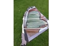 5m gasta manic windsurf sail (damaged)