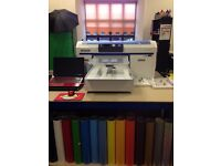Epson SureColour SC-F2000 (5C) Large Format DTG Printer + Small And XS Platens *HARDLY USED*