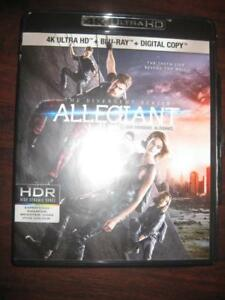 Divergent Series: Allegiant (4K Ultra HD Blu-ray DVD Combo) (2016) Action and Adventure Movie. Film. Veronica Roth Book
