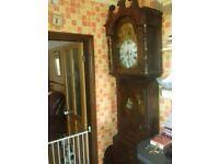 Large longcase grandfather clock ,circa 1800