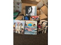 Collection of vinyl (singles & LPS)