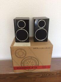 Wharfedale diamond 210 speakers.