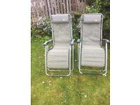 Lafuma Reclining Chairs (Two)