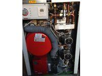 1 year old Warmflow oil combi boiler