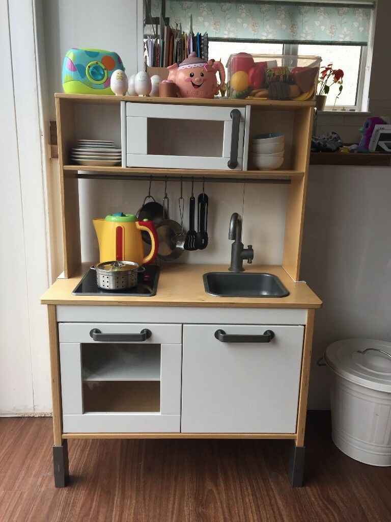 Ikea toy kitchen with accessories £40 ono