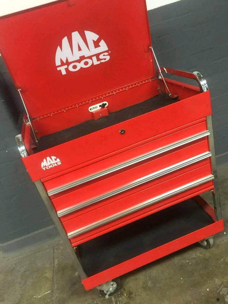 Mac Tools Tool cart 3 drawer Trolley Tool Box | in Carrickfergus, County  Antrim | Gumtree