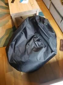 Black Adult Sized Bean Bag