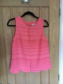 Oasis shell top Size 12