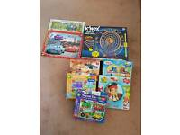 Big job lot of knex jigsaws and book and mores