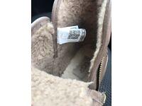 Genuine Ugg boots waterproof leather 6.5