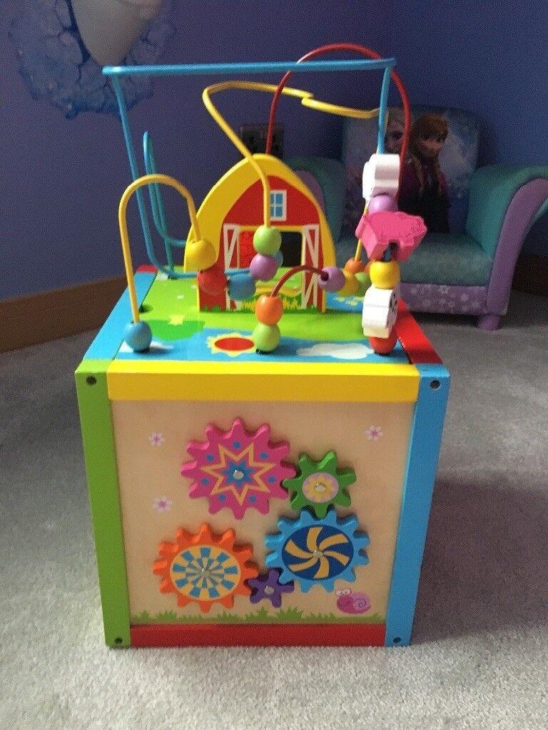 Kids multi function toy center