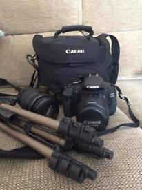Canon EOS600D Kit with Zoom lens