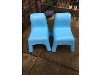 Elc plastic chairs
