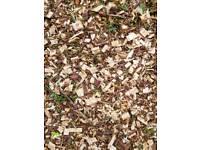 Wood chips, woodchips, mulch, like bark