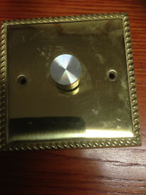 Used Brass Dimmer Switche