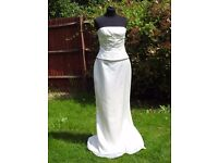 UK Size 10 Handmade Designer Forever Yours Stunning Ivory Wedding Dress